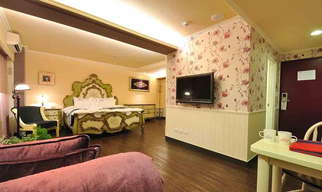 伊麗莎白酒店-頂級享受|豪華套房