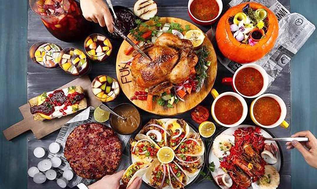 棧 F-U Kitchen 直火廚房-限量耶誕4人烤雞全餐 可升等8人餐