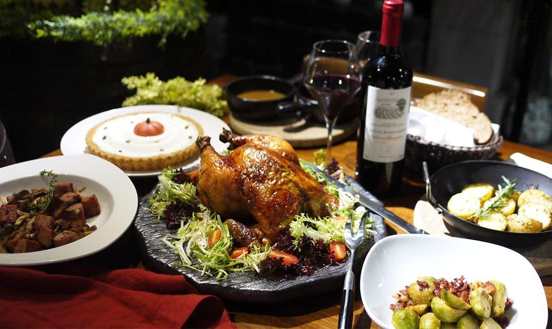WINE-derful 葡萄酒餐廳-感恩優惠 | 四人感恩節火雞套餐