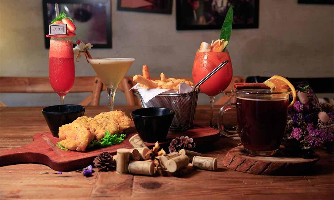 Greedy Bistronomy Cafe 餐酒-350 元特調 2 杯贈下酒菜