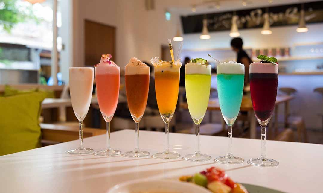 Mocktini 概念調飲餐館-獨家特調 | Rainbow tinis