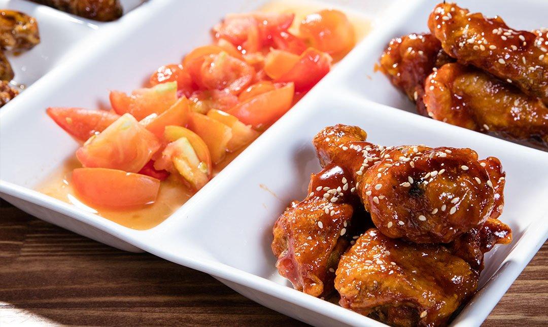 歐吧噠韓國炸雞-耶誕雙人餐  贈韓國首爾來回機票