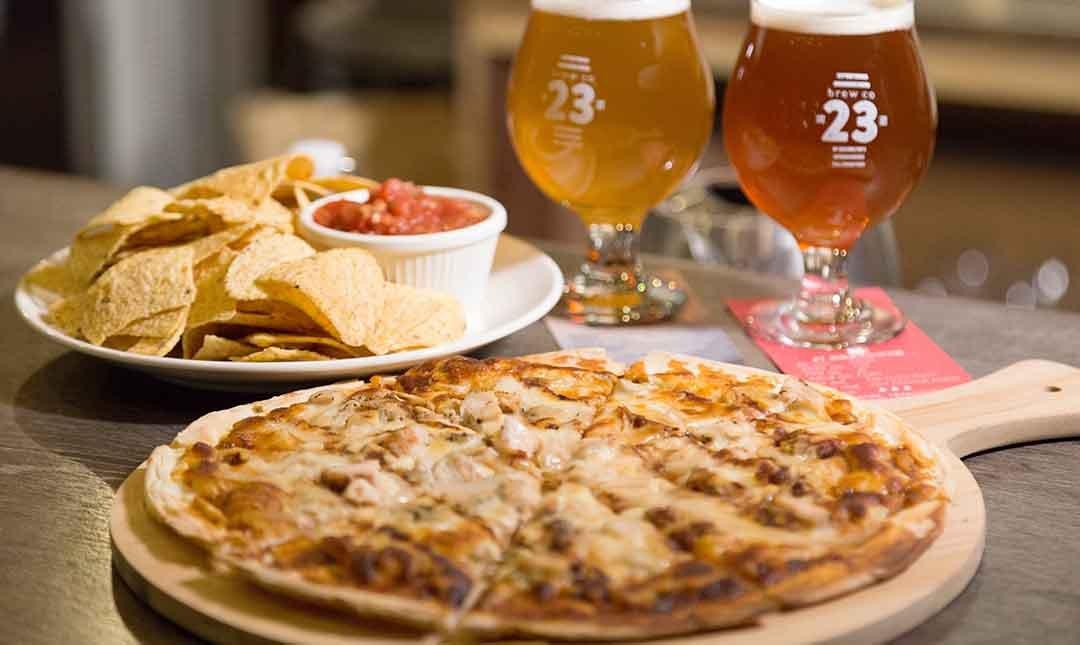 23 Public 精釀啤酒 師大店-四人同樂 | 披薩 + 洋芋片 + 啤酒