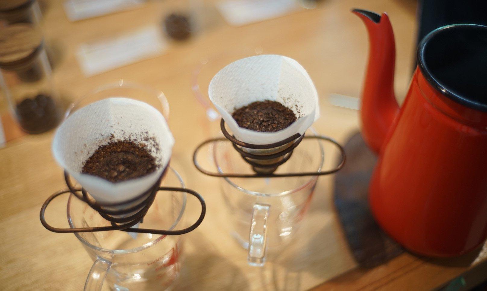 自家烘焙 tamagusuku coffee-自家烘焙手沖咖啡外帶杯 (熱)
