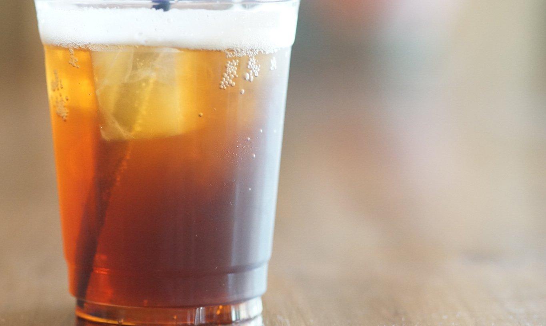 自家烘焙 tamagusuku coffee-獨家手沖氣泡咖啡外帶杯(冰)