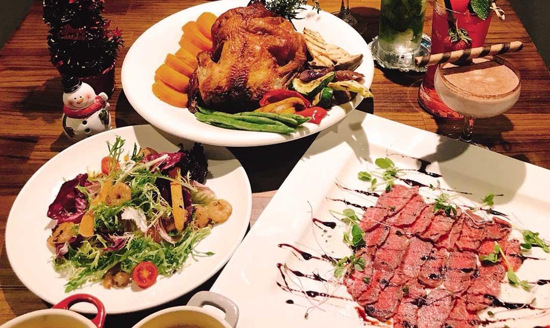 熊武吉餐酒館-[雙人] 耶誕烤雞全餐