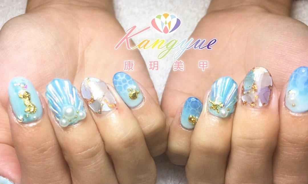 康玥美甲-手日雜設計款任選 x 得獎名師