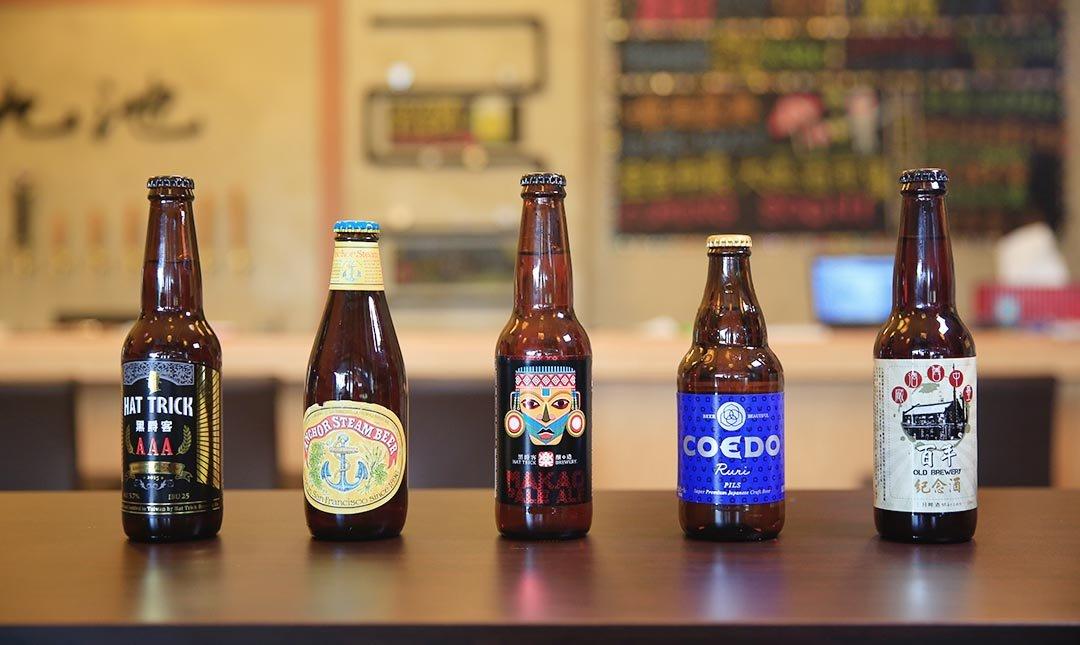九池啤酒本舖-台中最大啤酒舖   精釀啤酒 2 杯