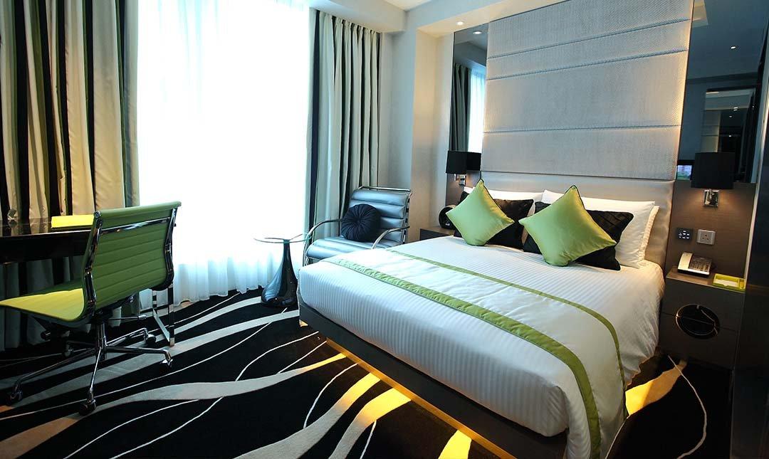 Hotel Madera Hong Kong-豪華大床客房