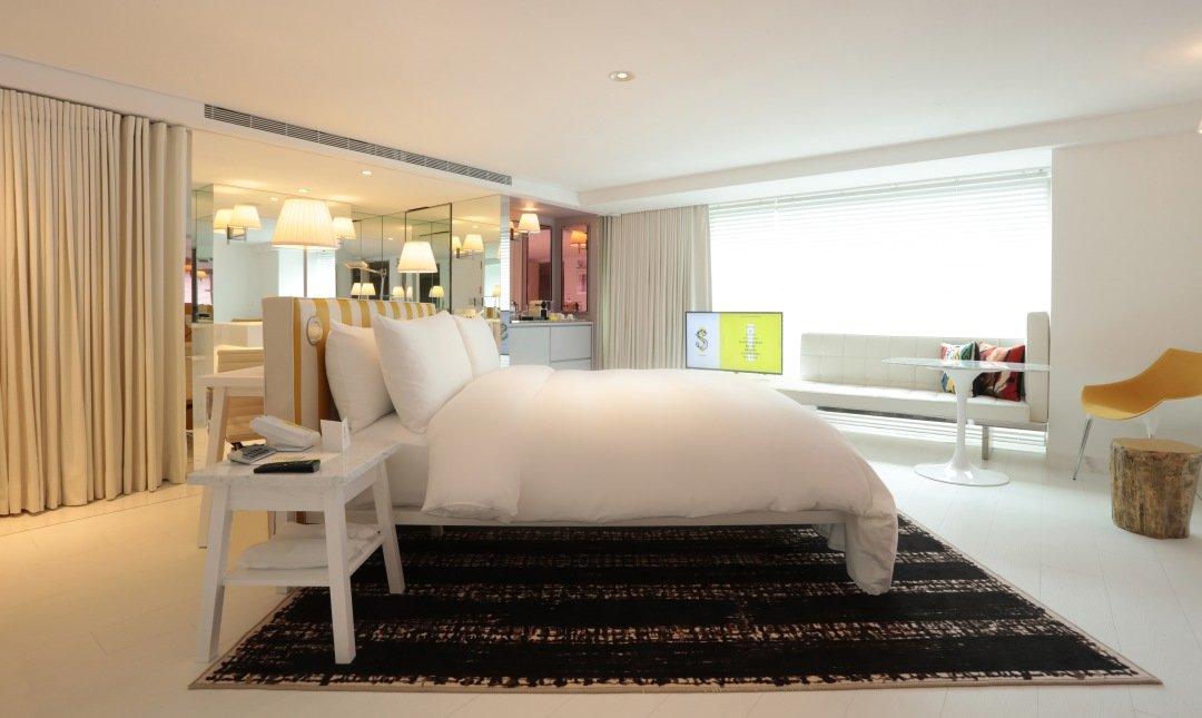 S Hotel | 米其林推薦酒店-豪華房 |  坐擁101夜景