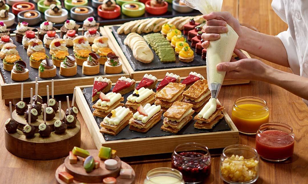台北美福 彩匯自助餐廳 palette-歐式下午茶|最頂級雙人吃到飽
