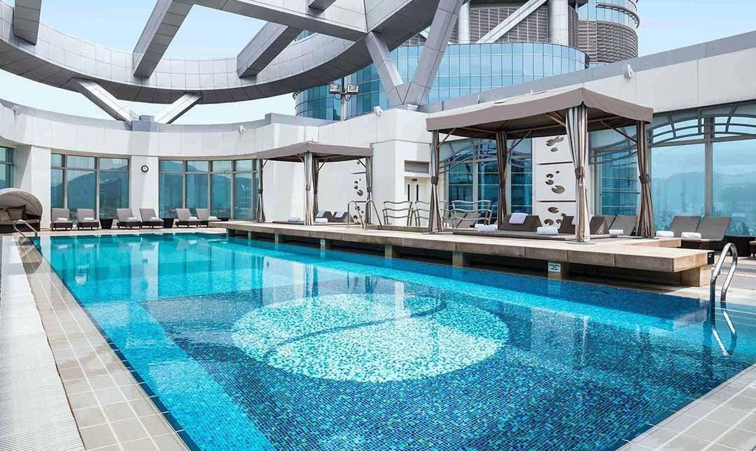 香港康得思酒店-豪華客房