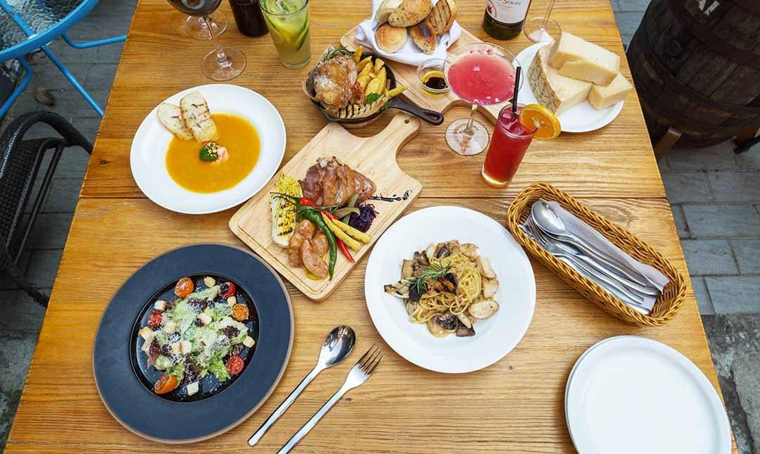 Plan B 歐陸街頭市集小酒館-歐式街頭風情|雙人分享餐|贈飲品