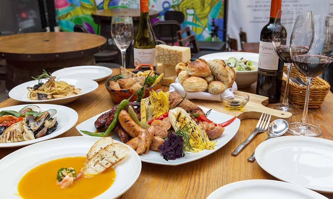 Plan B 歐陸街頭市集小酒館-歐式街頭風情|4 人分享餐|贈飲品