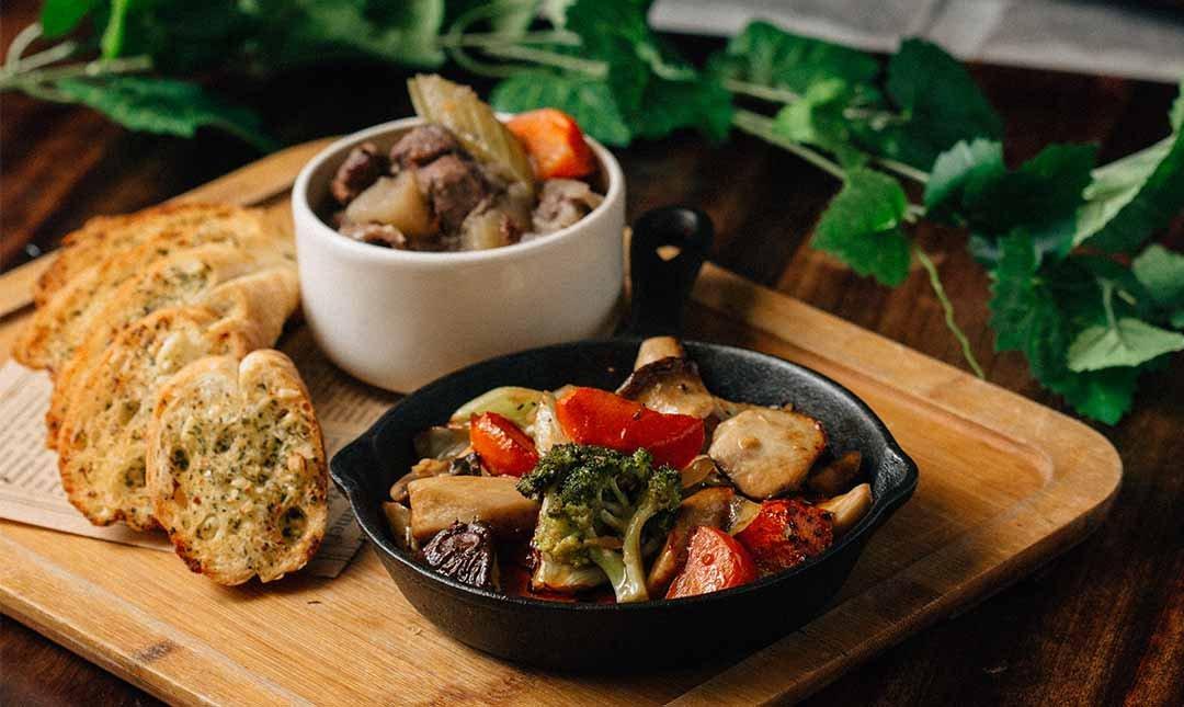 Plan B 歐陸街頭市集小酒館-歐風早午餐|義式蘋果燉牛肉套餐