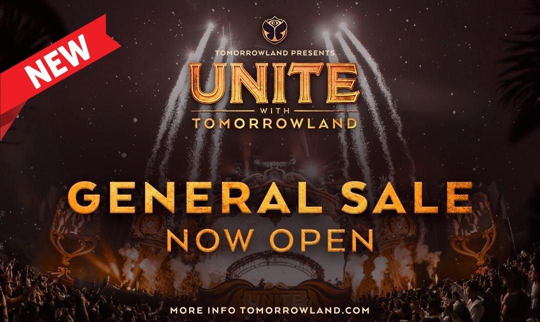UNITE With Tomorrowland-GA 預售票