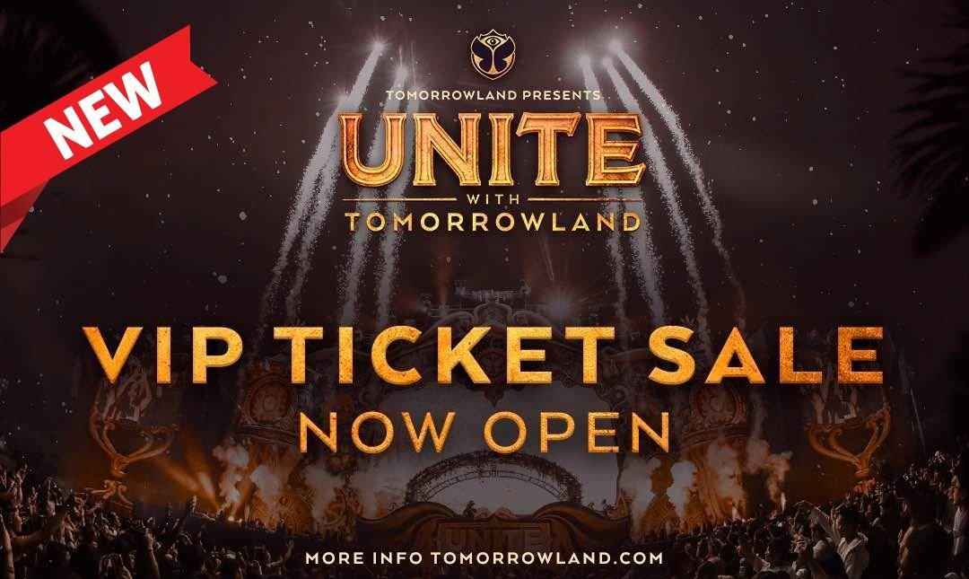 UNITE With Tomorrowland-VIP 票