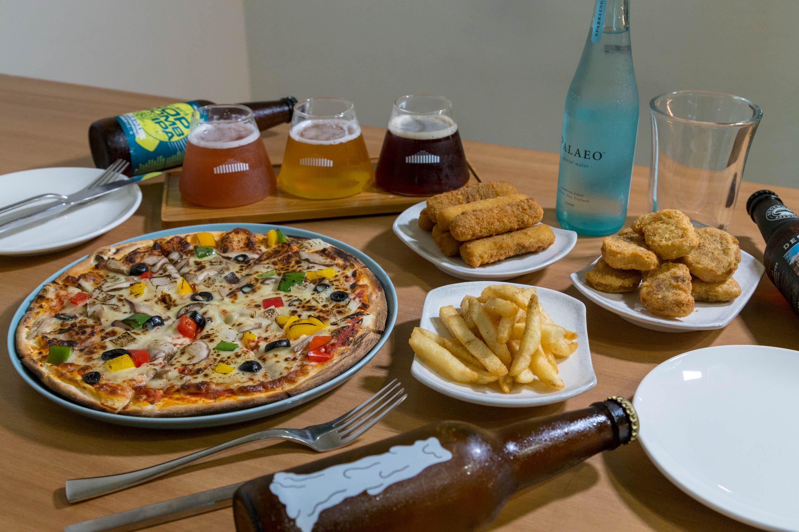 有時精釀餐酒館-舒心放鬆   Pizza + 喝不醉系列