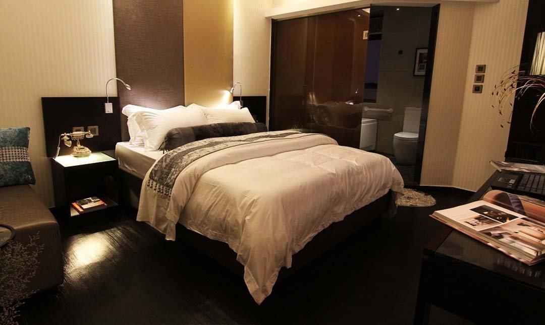 陶庭酒店-豪華大床房 3h