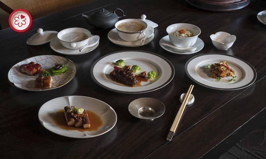 米其林一星 | 台北文華東方酒店雅閣-粵菜料理 | 雙人晚間料理