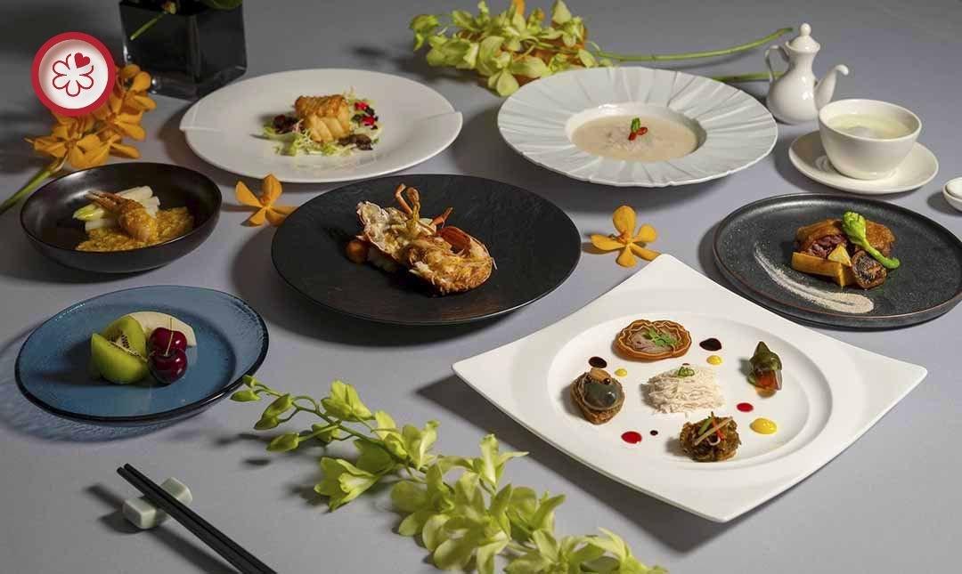 米其林二星 | 喜來登飯店請客樓-極佳視野景觀 | 雙人午間料理