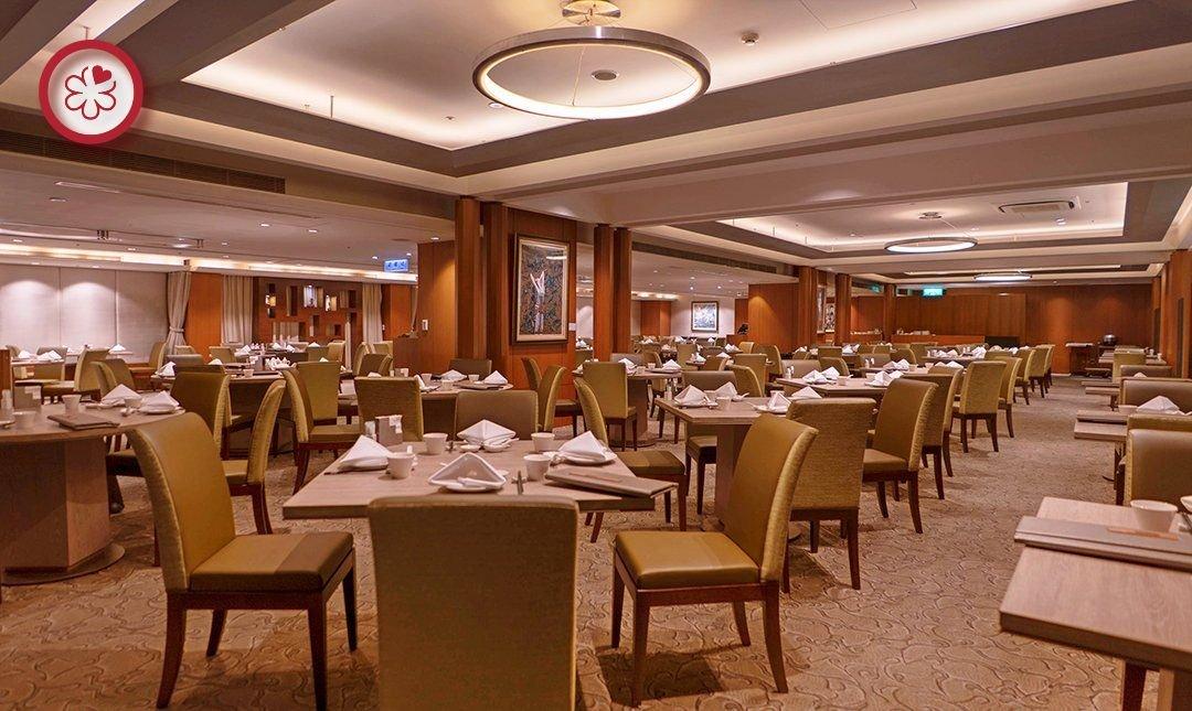 米其林餐盤 | 喜來登飯店辰園-中國風餐室 | 雙人午間料理