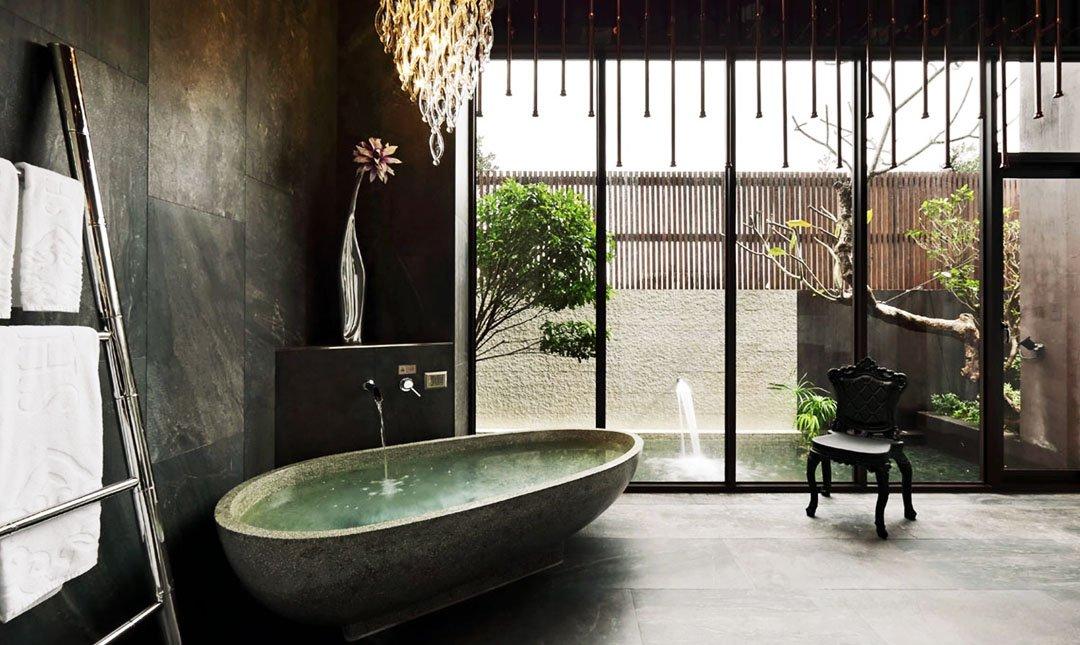 水舞行館-花舞套房|浴缸泡澡最暖心