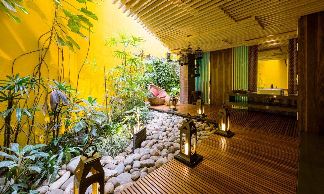 台中沐蘭精品旅館-水舞套房 | 最奢華頂級房