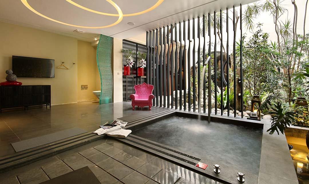 台中沐蘭精品旅館-楓舞 A 套房 | 大按摩浴池