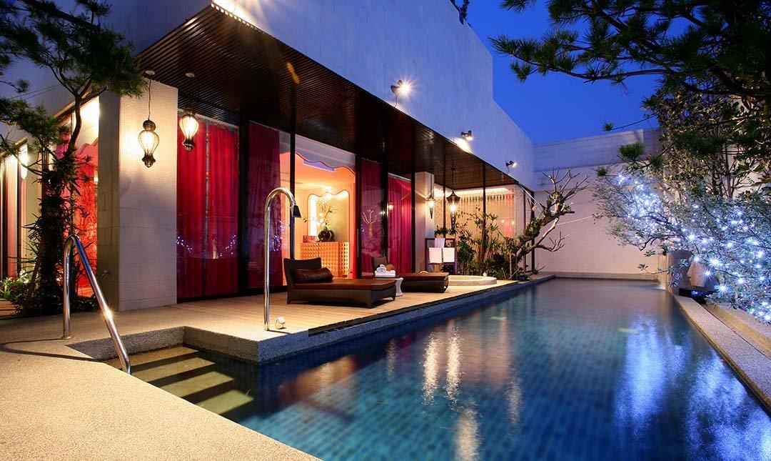 台北沐蘭精品旅館-水舞池畔房