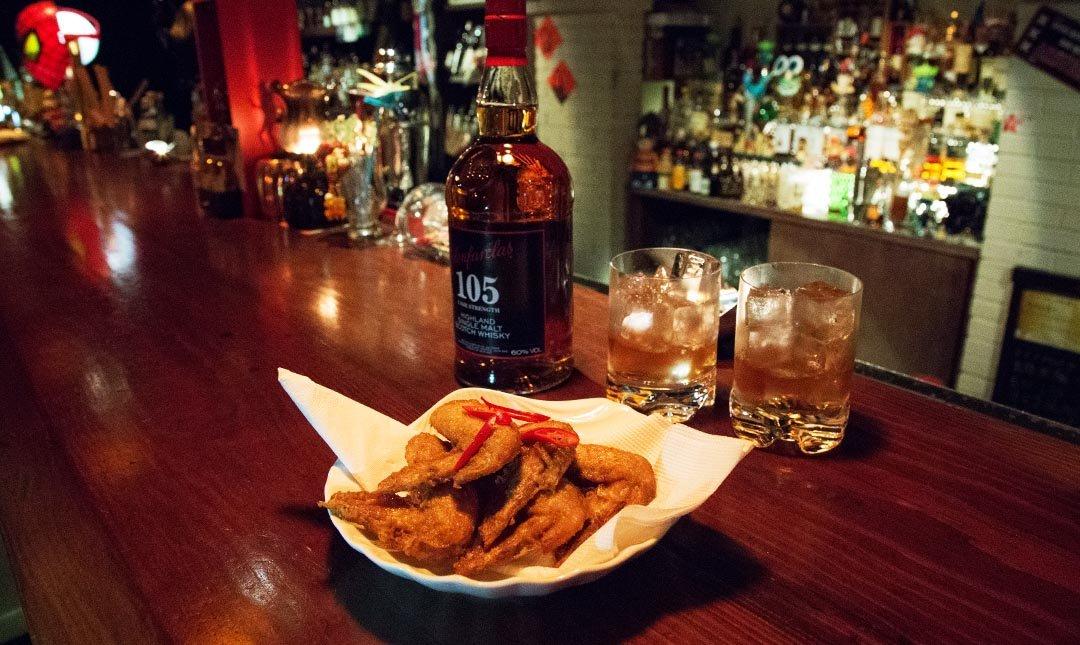 NOX Taipei-放鬆夜 | 威士忌 2 杯 + 香辣雞翅