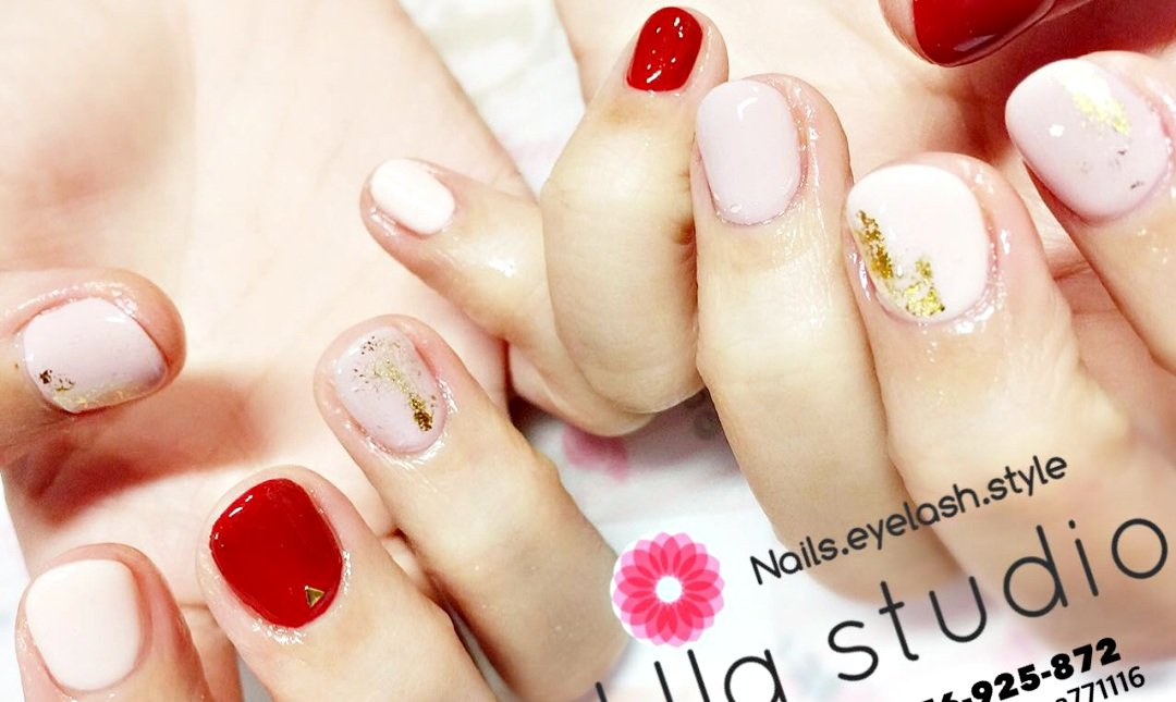 Ula Studio nails-手單色凝膠 (可跳三色不附鑽)