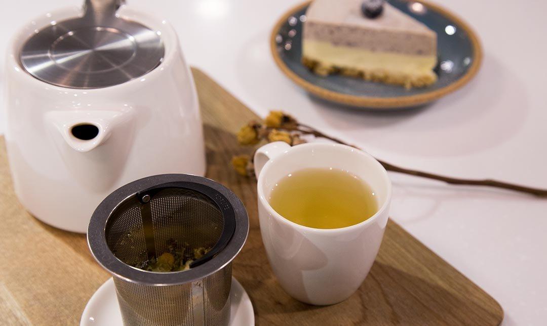 FIX COFFEE-一個美好的下午:舒壓茶+手工蛋糕