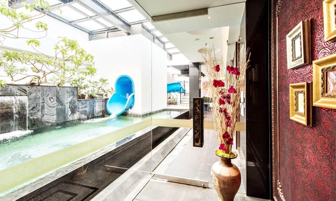 悅河精品旅館-奢華悅河泳池房