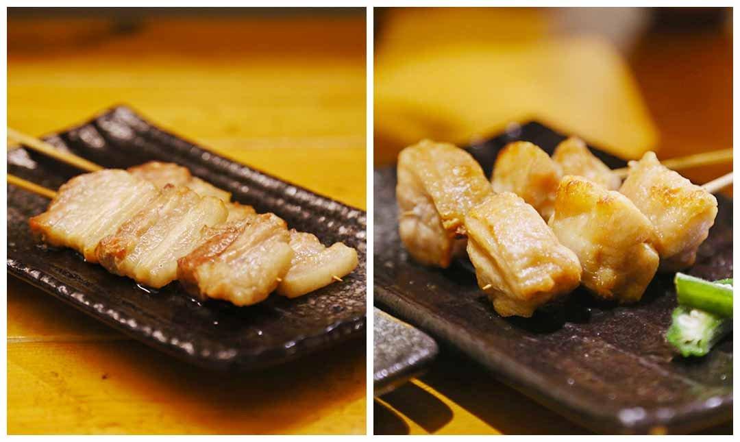 海人極究海鮮烤物-招牌組合 | 豬肉 + 雞肉 + 雞皮