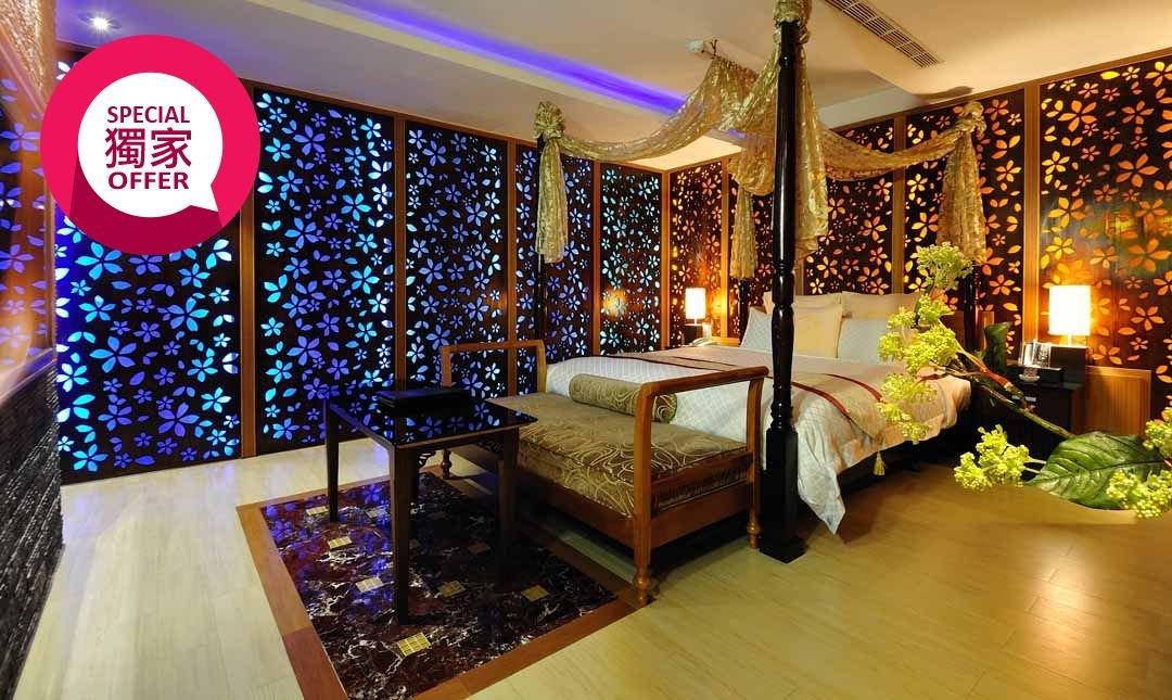 美麗殿精品旅館-精緻車庫房|晚鳥入住最優惠