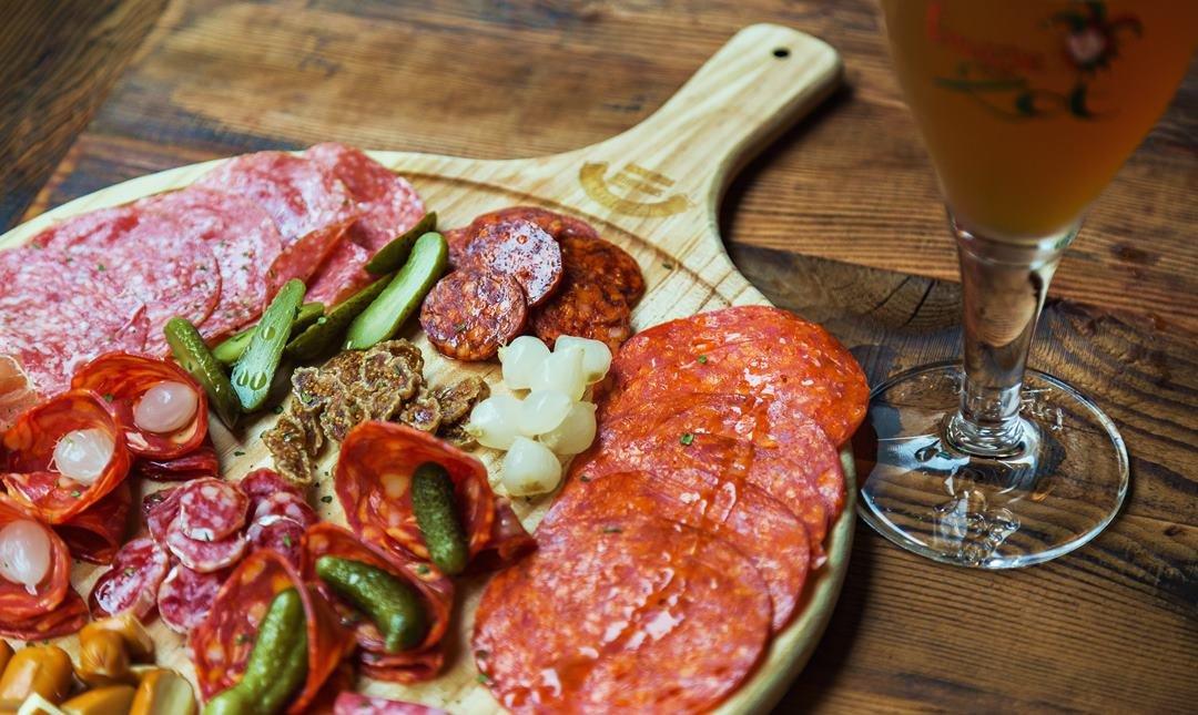 布娜飛 BravoBeer-比利時生啤酒 + 南歐臘腸肉集