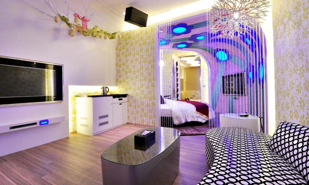 美麗海精品旅館-豪華商務房 3h x 無車庫