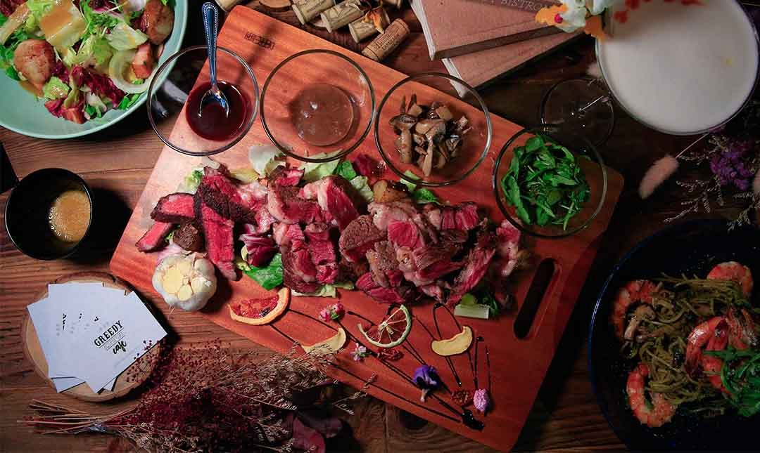 Greedy Bistronomy Cafe 餐酒-豪華歐式料理  限量 1800 折抵