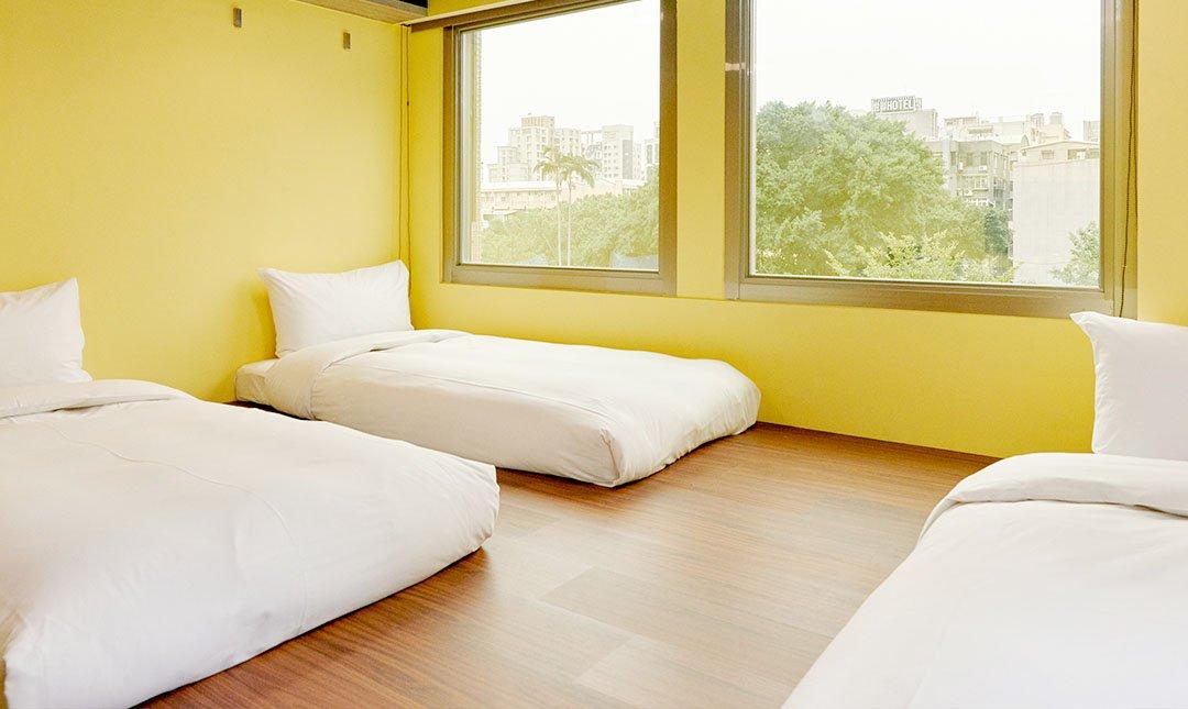 台北旅坊-景觀三人客房