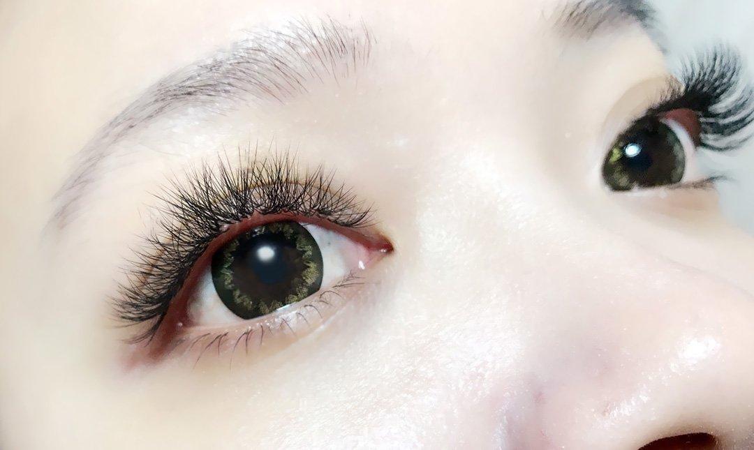 詩琪兒美睫部-6D電眼感雙眼 600 根