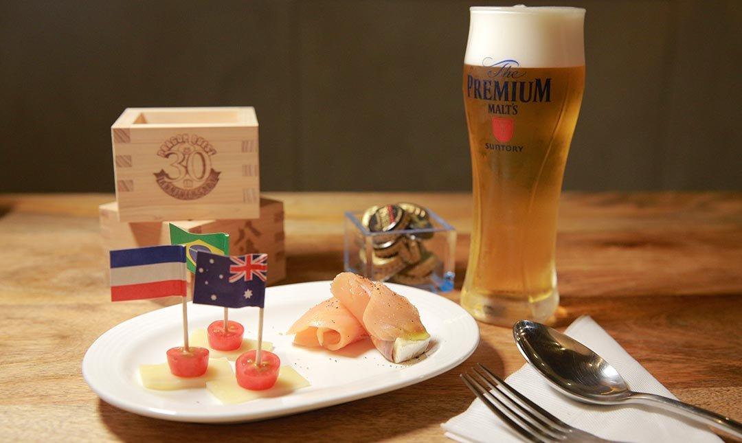 心白 Bistro & Bar-夏日輕食 | 義式佐酒拼盤 + 三得利