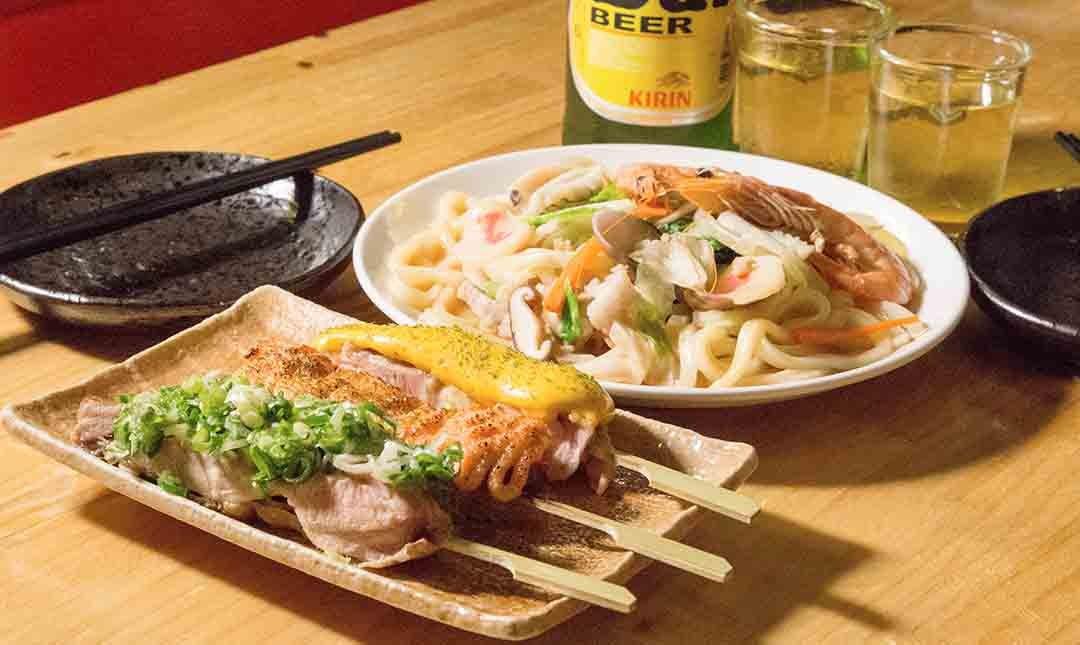 酌燒串燒酒食-深夜飛鏢食堂 | 雙人套餐
