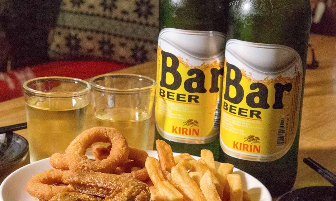 酌燒串燒酒食-深夜飛鏢食堂 | Bar 啤酒 2 瓶