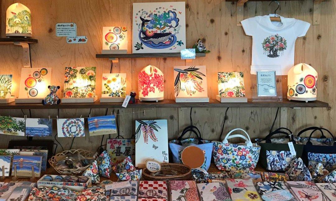 虹亀商店-藝術家限定:紅型環保袋DIY 1.5h