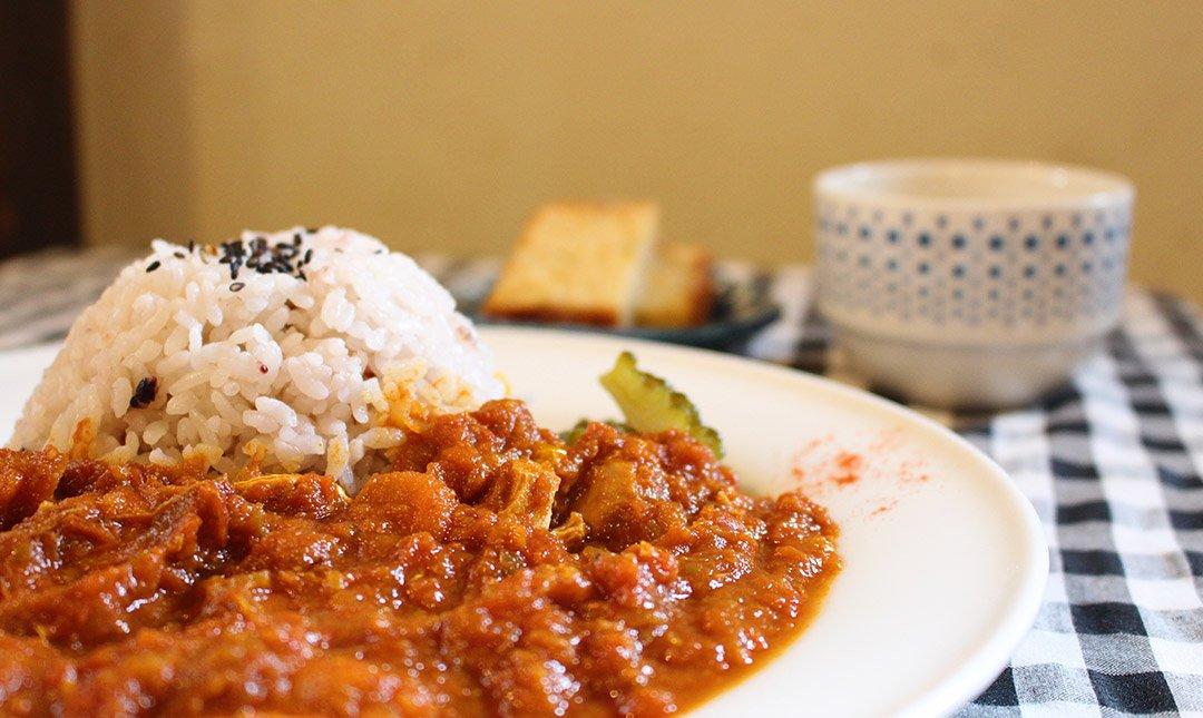 Kitchen Fukiya-獨家點心贈:雞肉咖喱餐