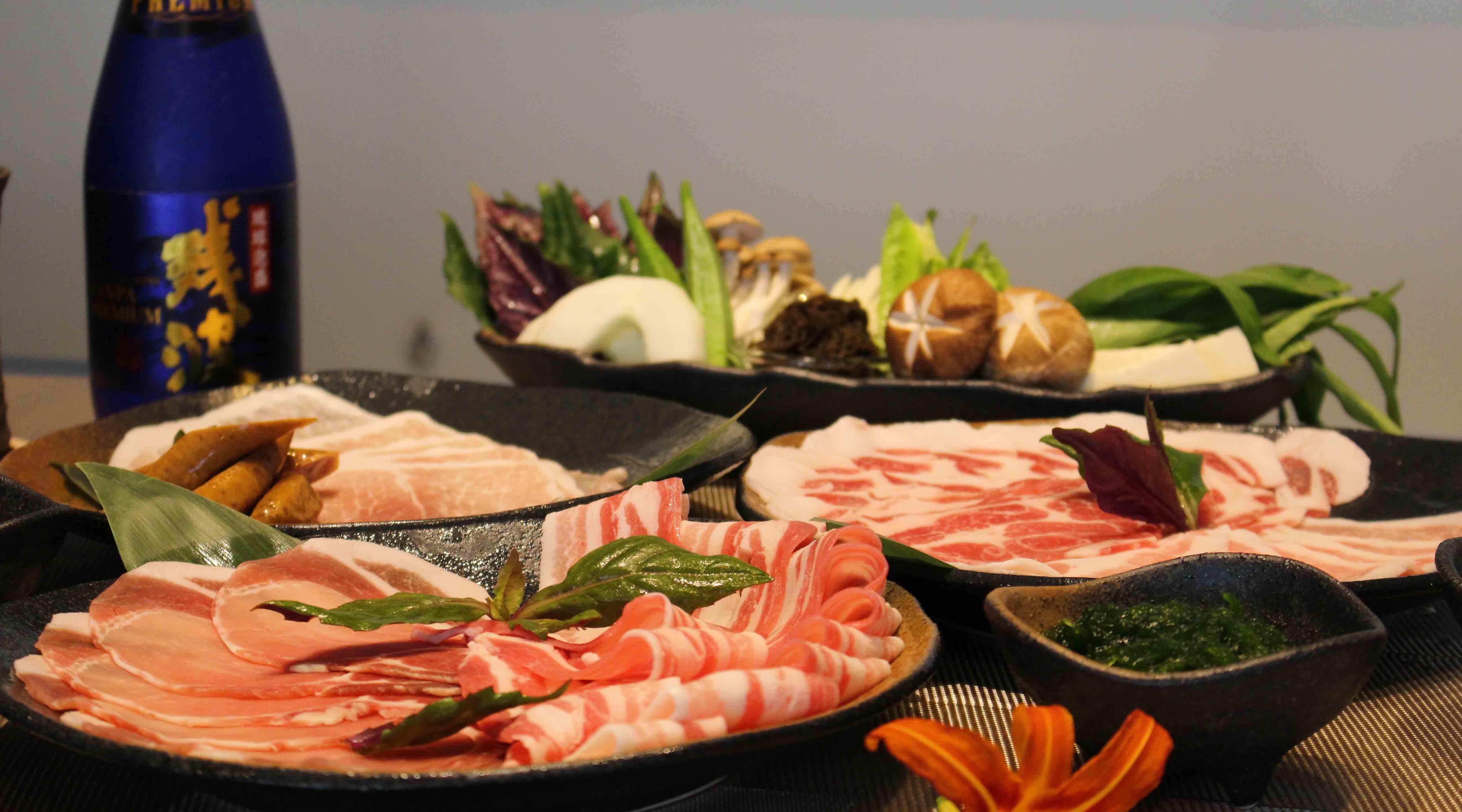 shi shi 豚牛涮涮鍋-特級首選套餐+飲料放題