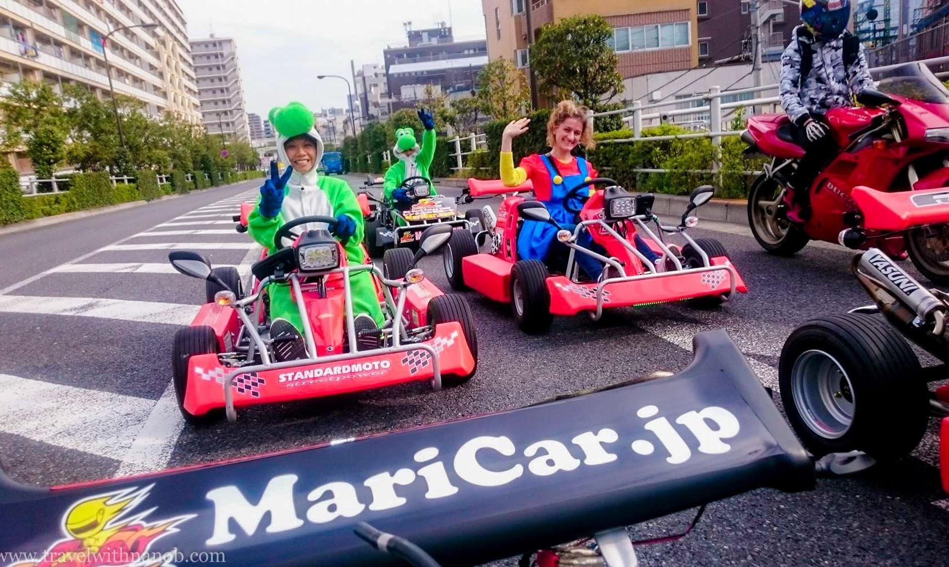 沖繩Mari Car-暢快2小時 跑跑卡丁車