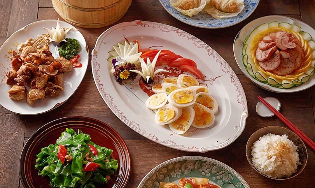 台北美福 米香台式料理 MIPON-阿嬤ㄟ古早味   雙人套餐