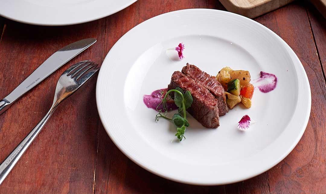台北美福 彩匯自助餐廳 palette-浪漫無國界午餐  A5 和牛雙人饗宴